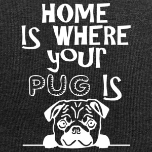 Home is where your Pug is - Jersey-Beanie