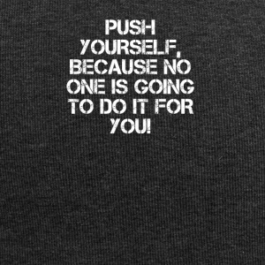 PUSH YOURSELF - Jersey Beanie