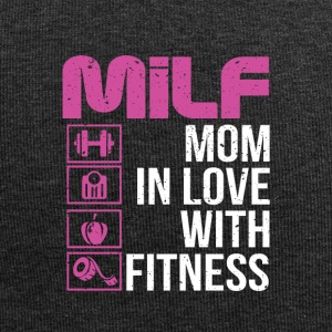 Mother in love with fitness - Jersey Beanie