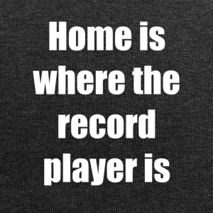 Home Is Where the record player is - Jersey Beanie