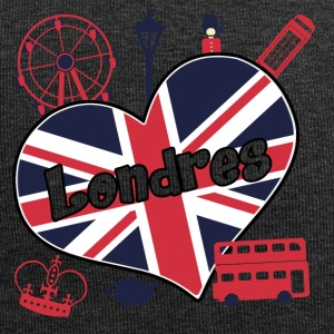 I love Londres 2 - Bonnet en jersey