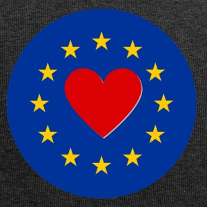 European Union EU Love Love - Jersey Beanie