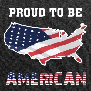 Proud To Be American T-shirt - Jersey Beanie