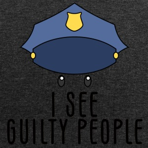 Polizei: I see guilty people - Jersey-Beanie