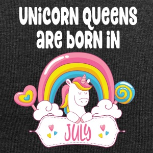 Unicorn Queens are born in July - Jersey Beanie