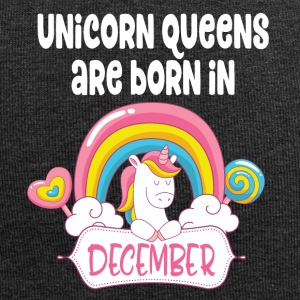 Unicorn Queens are born in December - Jersey-Beanie