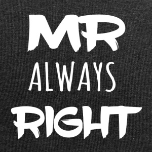 Beautiful Banner Shirt - Mr ALWAYS right - Jersey Beanie