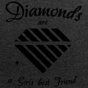 Diamonds are a Girls Best Friend - Jersey Beanie