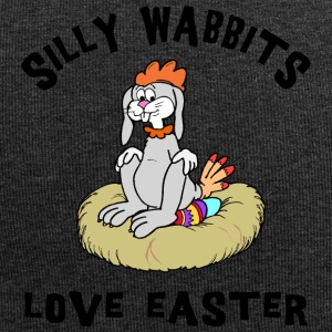 Easter Silly Wabbits Love Easter - Jersey Beanie