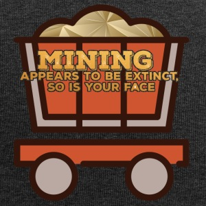 Bergbau: Mining appears to be extinct, so is your - Jersey-Beanie