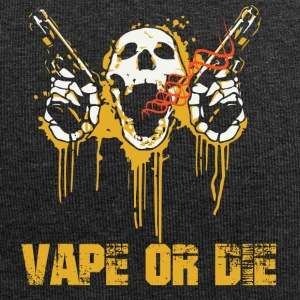 VAPE OR DIE - Beanie in jersey