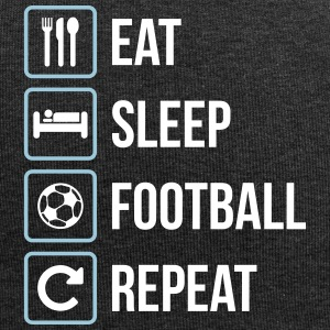 Eat Sleep Football Repeat - Jersey-Beanie