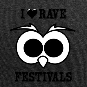 I Love Rave Festivals - Jersey-Beanie