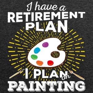Retirement plan painting (light) - Jersey-Beanie