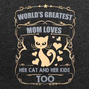 World greatest Mom loves her CAT/KIDS - Jersey-Beanie