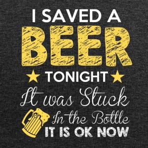 I SAVED A BEER TONIGHT - Jersey-Beanie