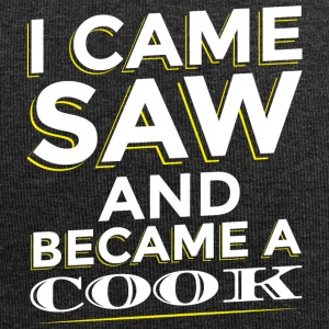 I CAME SAW AND BECAME A COOK - Jersey Beanie