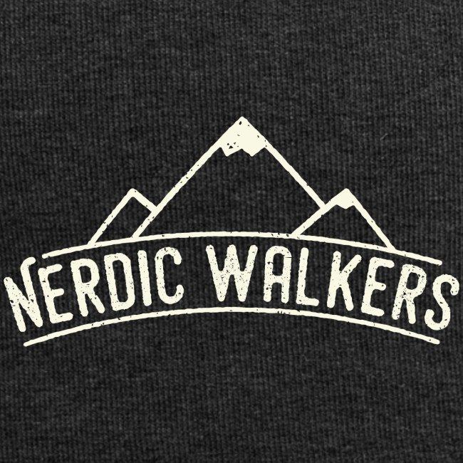 Logo Nerdic Walking offwhite
