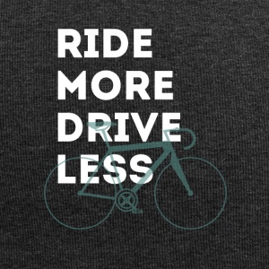 More bike less car racing MM b bmx typo big - Jersey Beanie
