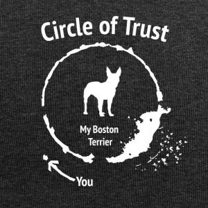 Lustige Boston-Terrier-Shirt - Circle of Trust - Jersey-Beanie