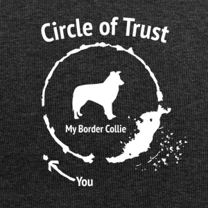 Drôle Border Collie Shirt - Cercle de confiance - Bonnet en jersey