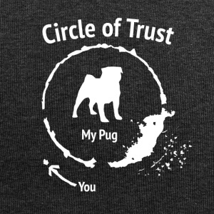 Grappige Pug Shirt - Circle of Trust - Jersey-Beanie
