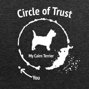 Funny Cairn Terrier Shirt - Circle of Trust - Jersey Beanie