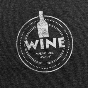 Wine Made Me Do It T-Shirt - Jersey-Beanie