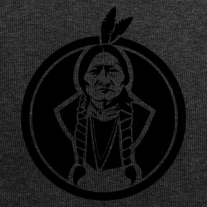 Sitting Bull indiansk - Jersey-beanie