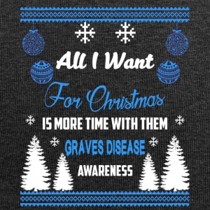 Graves Disease Awareness! All I Want For Christmas - Jersey Beanie