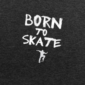 born to skate skateboard skater hobby cool fun fre - Jersey-Beanie