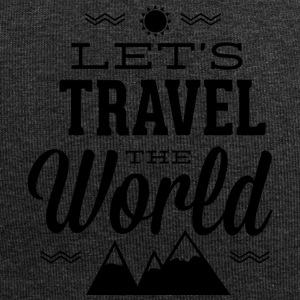 let s travel the world - Jersey Beanie