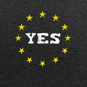 yes Europe EU Europe love no Proposed referendum on United Kingdom membership of the European Union euro national demo - Jersey Beanie