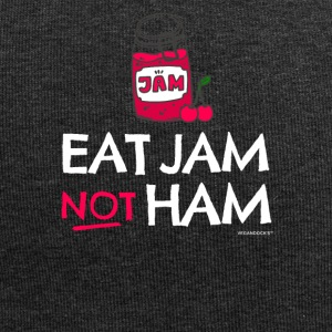 "Vegan & Vegetarian T-shirt ""Eat Jam Not Ham"" - Jersey Beanie"