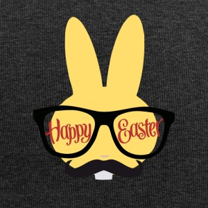 Easter Design with a Hipster Easter bunny - Jersey Beanie