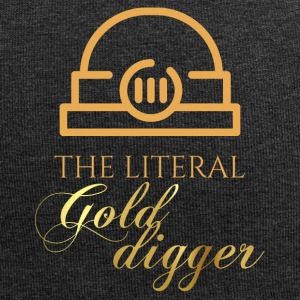 Bergbau: The literal Gold Digger - Jersey-Beanie