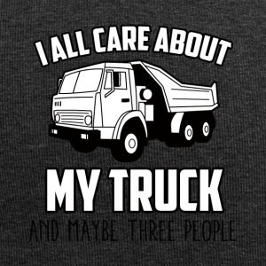 Trucker / Truck Driver: I All Care About My Truck - Jersey Beanie