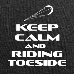 KITESURFING - KEEP CALM AND RIDING TOESIDE - Jersey-Beanie