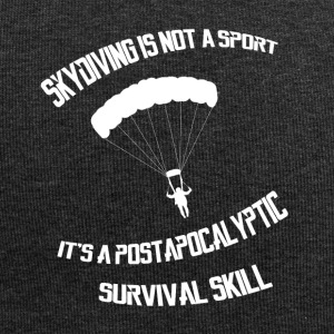 Skydiving is a survival skill - Jersey-Beanie