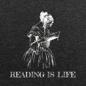 Reading is life - Jersey Beanie