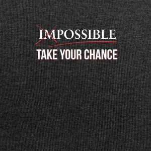 Impossible Possible - Use your chance - Jersey Beanie