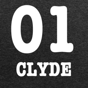clyde white - Beanie in jersey