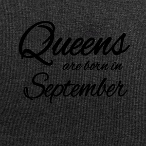 Queens Born September Geburtstag Birthday - Jersey-Beanie