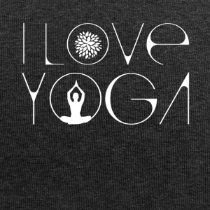 Love Yoga Buddha Lotus meditation energy breath sha - Jersey Beanie