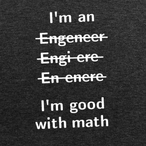 I'm An Engeneer, I'm Good With Math - Jersey Beanie
