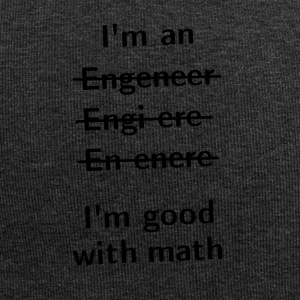 I'm An Engeneer, I'm Good With Math - Jersey-Beanie