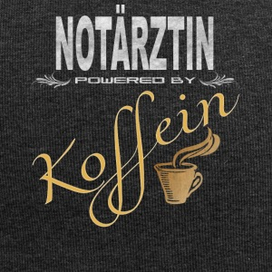 Notärztin powered by Koffein - Jersey-Beanie