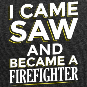 I CAME SAW AND BECAME A FIREFIGHTER - Jersey Beanie