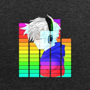 Electronic Music - Anime Guy - Jersey Beanie