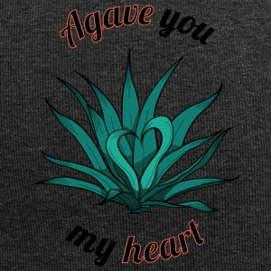 agave you my heart - Beanie in jersey